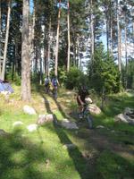 Колоездене по горска пътека