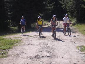 С велосипед по горските пътища
