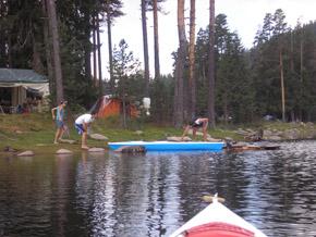 Подготовка на лодките