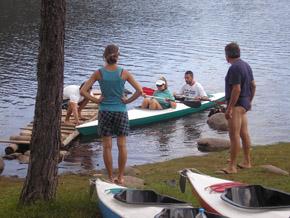Кея е най-удобното място за тръгване с лодка